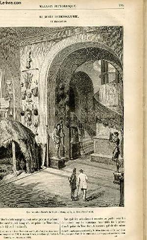 LE MAGASIN PITTORESQUE - Livraison n°49 - Le musée d'ethnographie au Trocadé...