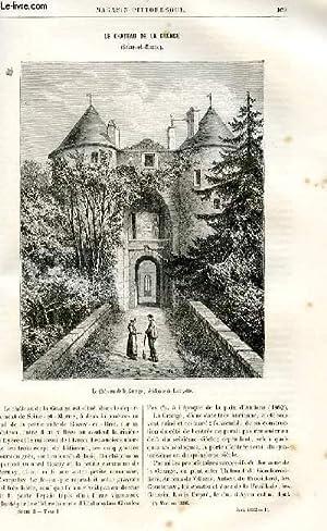 LE MAGASIN PITTORESQUE - Livraison n°11 - Le château de al Grange - Seine et MArne.: ...