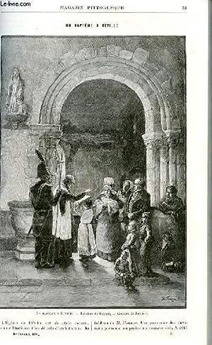LE MAGASIN PITTORESQUE - Livraison n°03 - un baptême à Réville.: MAYET ...