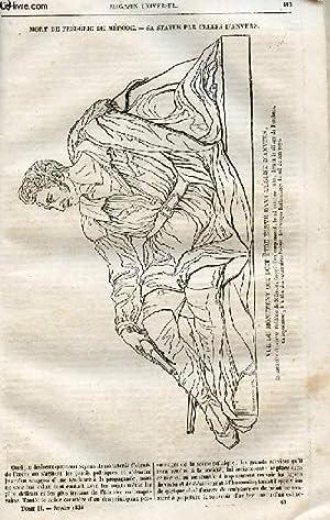 Le magasin universel - tome second - Livraison n°15 - Mort de Frédéric de Mérode - sa statue par ...