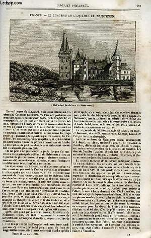 Le magasin universel - tome second - Livraison n°30 - France - Le château et l'...