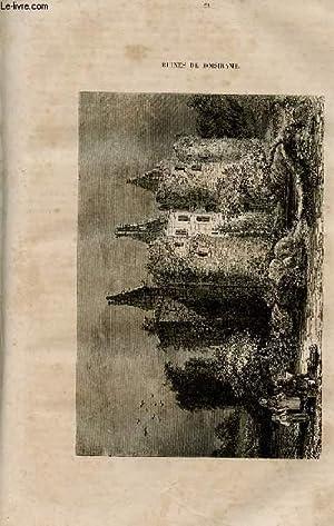 Le magasin universel - tome septième - Livraison n°21 - Ruines du château de ...