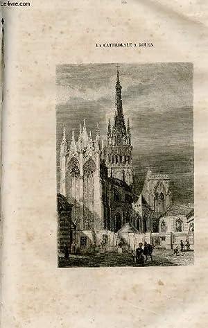 Le magasin universel - tome septième - Livraison n°33 - Rouen - la cathédrâ...
