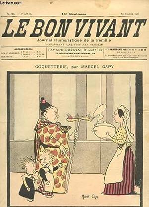 LE BON VIVANT N°67 - COQUETTERIE: MARCEL CAPY