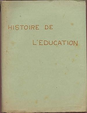HISTOIRE DE L'EDUCATION.: COLLECTIF