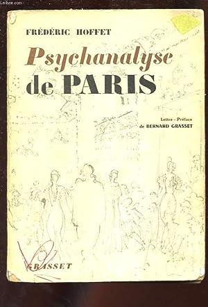 PSYCHANALYSE DE PARIS: HOFFET FREDERIC