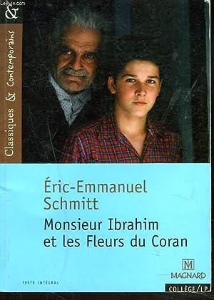 MONSIEUR IBRAHIM ET LES FLEURS DU CORAN: ERIC-EMMANUEL SCHMITT