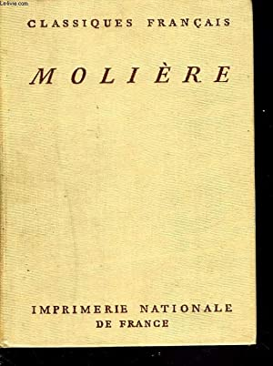 OEUVRES COMPLETES. TOME 10. LE MALADE IMAGINAIRE.: MOLIERE