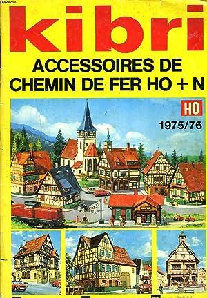 KIBRI. ACCESSOIRE DE CHEMIN DE FER HO+N. HO 1975-76.: COLLECTIF