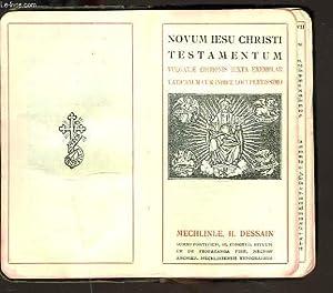 Manuale Christianum continens Novum J.C. Testamentum vulgatae: COLLECTIF