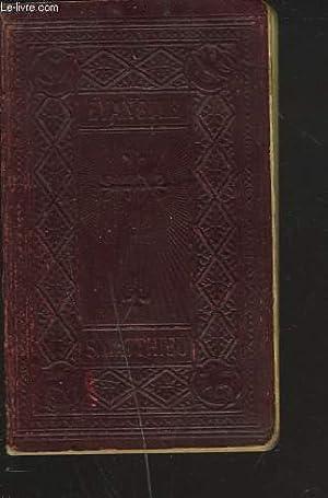 LE SAINT EVANGILE DE JESUS-CHRIST SELON SAINT-MATTHIEU: M. L'ABBE CRAMPON