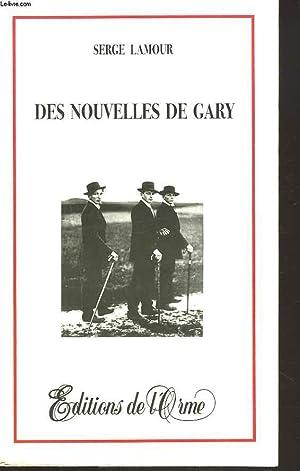 DES NOUVELLES DE GARY: SERGE L'AMOUR