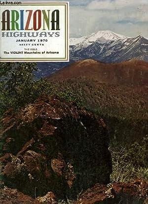 Arizona Highways, Volume XLVI - N°1 : The Violent Mountains of Arizona: CARLSON Raymond & ...