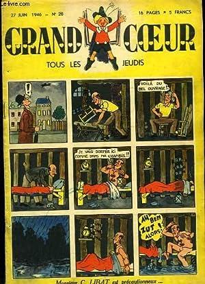 Grand Coeur n°28 : Monsieur C. Libat précautionneux - Le Radar - Oursine et oursette ou ...