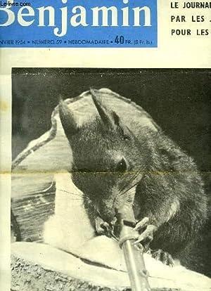 Journal Benjamin N°59 : Les Buvards et les Capsules - Colosse l'écureuil dé...