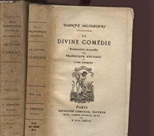 LA DIVINE COMEDIE -TOMES PREMIER ET SECOND.: ALIGHIERI DANTE