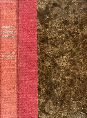 HISTOIRE DE LA LOCOMOTION TERRESTRE: DOLLFUS Ch., GEOFFROY E. DE, BAUDRY DE SAUNIER