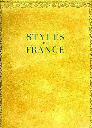 STYLES DE FRANCE, MEUBLES ET ENSEMBLES DE 1610 A 1920: MARIE ALFRED