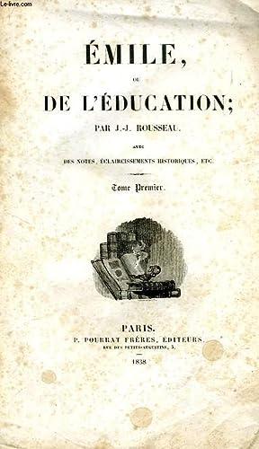 EMILE, OU DE L'EDUCATION, 2 TOMES: ROUSSEAU J.-J.