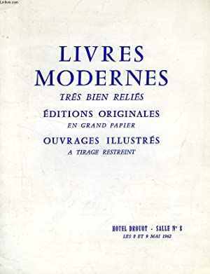 LIVRES MODERNES TRES BIEN RELIES (CATALOGUE): COLLECTIF