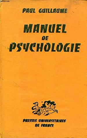MANUEL DE PSYCHOLOGIE: GUILLAUME PAUL