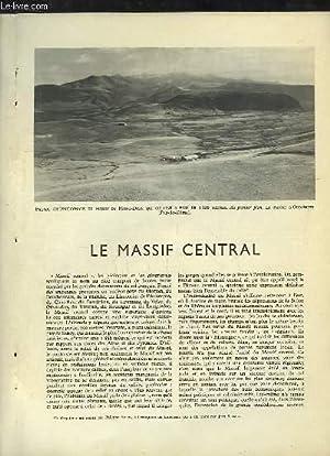 La France, TOME 1 : Le Massif: FAUCHER ED. -