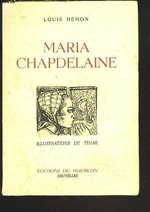 MARIA CHAPDELAINE: LOUIS HEMON