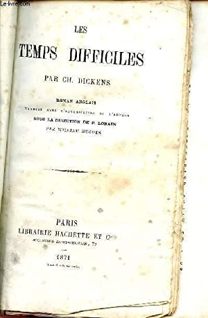 LES TEMPS DIFFICLES.: DICKENS CHARLES
