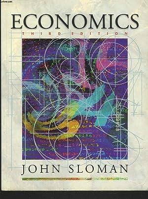 ECONOMICS. THIRD EDITION.: JOHN SLOMAN