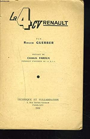LA 4CV RENAULT: ROGER GUERBER