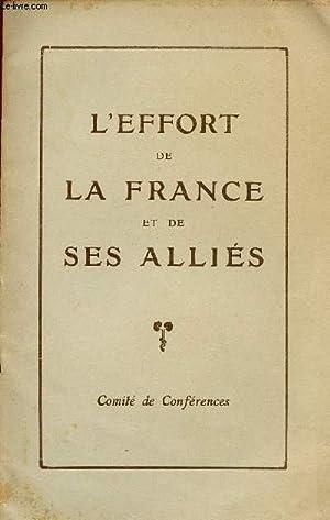 L'EFFORT DE LA FRANCE ET DE SES ALLIES.: COLLECTIF