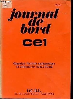 JOURNAL DE BORD - CLASSE DE CE1 / ORGANISER L'ACTIVITE MATHEMATIQUE EN UTILISANT LES ...