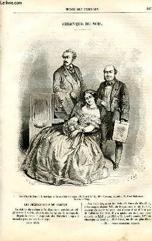 Le musée des familles - lecture du soir - livraison n°28 - Chronique du mois par Pitre ...