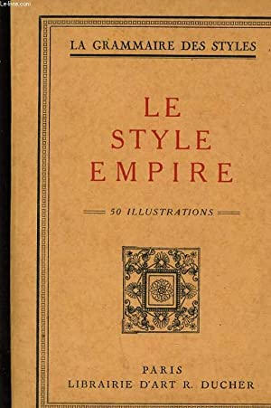 LE STYLE EMPIRE LE STYLE DIRECTOIRE: COLLECTIF