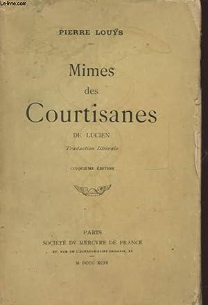 MIMES DES COURTISANES DE LUCIEN: PIERRE LOUYS