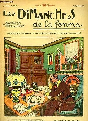 Les Dimanches de la femme N°29 - 1ère année : Le Cabinet de Travail de Monsieur -...