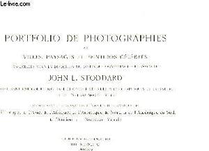 Portfolio de Photographies des villes, paysages et peintures célèbres.: STODDARD John...