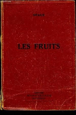 LES FRUITS: DEAUX E.
