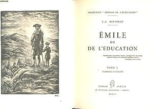 EMILE OU L'EDUCATION. 2 TOMES: ROUSSEAU J. J.