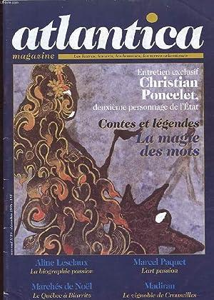 ATLANTICA MAGAZINE. N°59. ENTRETIEN EXCLUSIF: CHRISTIAN PONCELET,: COLLECTIF