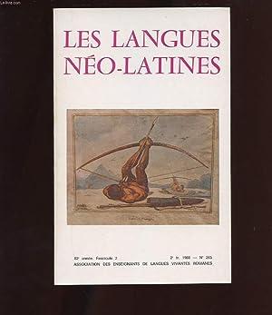 LES LANGUES NEO-LATINES. N°265. 82 EME ANNEE.: COLLECTIF