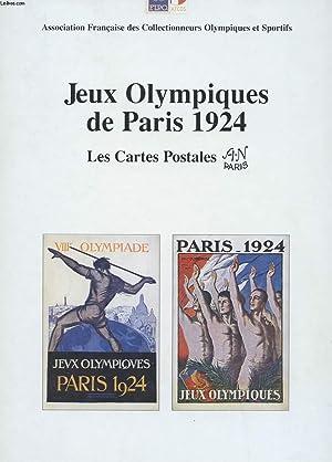 JEUX OLYMPIQUES DE PARIS 1924. LES CARTES: DEPARIS HENRI
