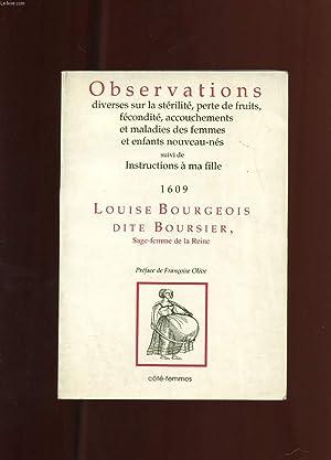 OBSERVATIONS DIVERSES SUR LA STERILITE, PERTE DE FRUITS, FECONDITE, ACCOUCHEMENTS ET MALADIES DES ...