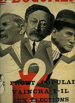 CINE REVELATION N° 6 DEUXIEME ANNEE. SOMMAIRE: FRONT POPULAIRE CAINCRA T IL AUX ELECTIONS. LES ...