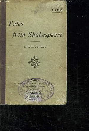 CONTES TIRES DE SHAKESPEARE. TEXTE EN ANGLAIS. 5em EDITION.: LAMB CHARLES.