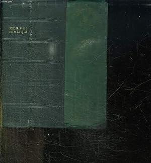 MISSEL BIBLIQUE DE TOUS LES JOURS. VESPERAL ET RITUEL.: COLLECTIF.