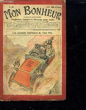 MON BONHEUR N° 48. LES EXPLOITS MARITIMES DE TOM PITT.: COLLECTIF.