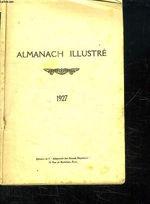ALMANACH ILLUSTRE 1927.: COLLECTIF.