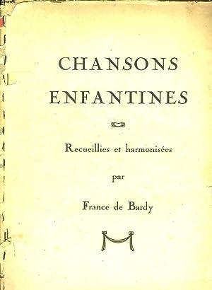 CHANSONS ENFANTINES: EN PASSANT PAR LA LORRAINE,: BARDY FRANCE DE.