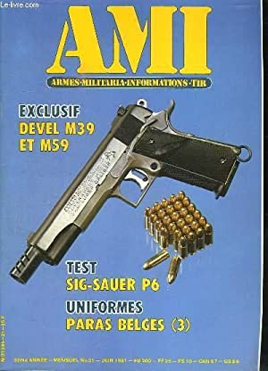 AMI LE MAGAZINE INTERNATIONAL DES ARMES N°: COLLECTIF.